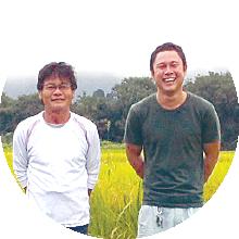 契約農家のお米です